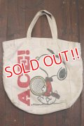 ct-190901-12 Snoopy / 1970's Tote Bag