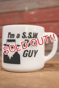 dp-191001-07 FEDERAL / 1960's〜 I'm a S.S.W. BAD GUY Mug