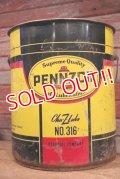 dp-191001-06 PENNZOIL / 1973 5 U.S.Gallons Motor Oil Can