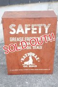 dp-191001-08 National Bearing Co. / 1950's〜SAFETY Metal Cabinet