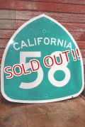 "dp-191001-11 Road Sign ""CALIFORNIA 58"""