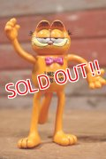 ct-191001-04 Garfield / DAKIN 1980's Bendable Figure