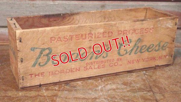 画像1: dp-190901-05  Borden's / Vintage Cheese Box