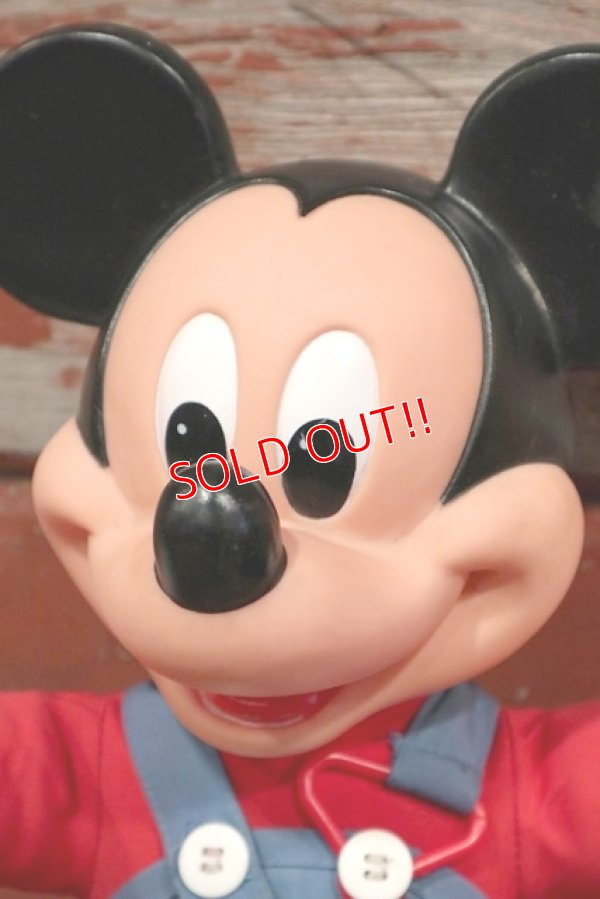 画像2: ct-191001-103 Mickey Mouse / Mattel 1989 LEARN-TO-DRESS Plush Doll