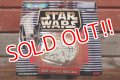 ct-191101-14 STAR WARS / Micro Machines Die-Cast Metal Millennium Falcon