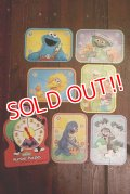 ct-190910-34 Sesame Street / Milton Bradley 1989 Number Puzzles Game