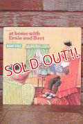 ct-150701-03 Sesame Street / at home with Ernie and Bert 1970's Record