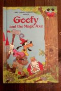ct-191001-106 Goofy and the Magic Axe 1980's Picture Book