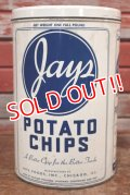 dp-191110-01 Jay's / Vintage Potato Chips Can