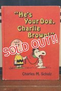 "ct-191001-113 PEANUTS / 1972 ""He's Your Dog,Charlie Brown!"" Picture Book"