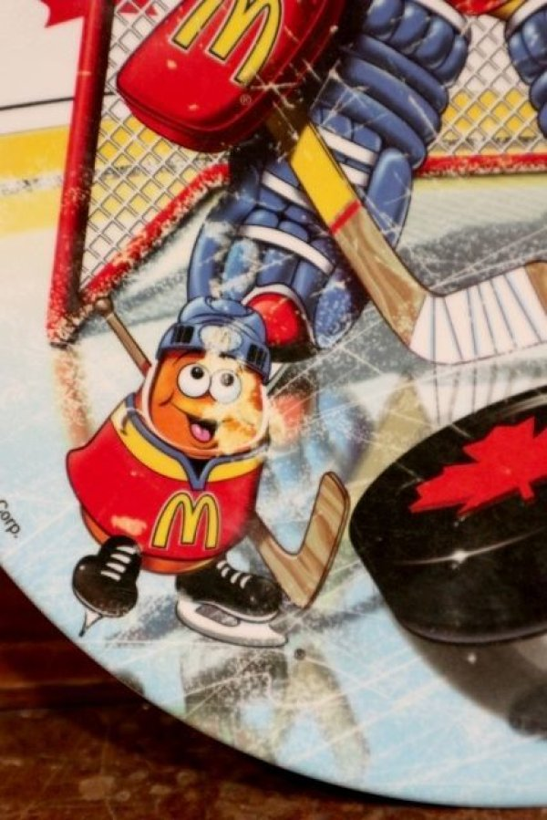 "画像3: ct-191101-29 McDonald's / 2000 Collectors Plate ""Hockey"""