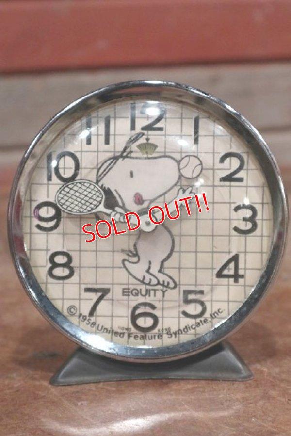 画像1: ct-191101-27 Snoopy / Equity 1980's Alarm Clock