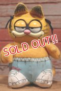 ct-191101-22 Garfield / Mattel 1980's Talking Plush Doll