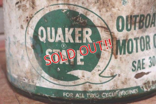 画像2: dp-191101-10 QUAKER STATE / 2 1/2 Gallons Outboard Motor Oil Can