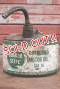 dp-191101-10 QUAKER STATE / 2 1/2 Gallons Outboard Motor Oil Can