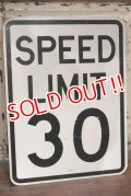 "dp-191101-33 Road Sign ""SPEED LIMIT 30"""