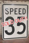 "dp-191101-34 Road Sign ""SPEED 35"""