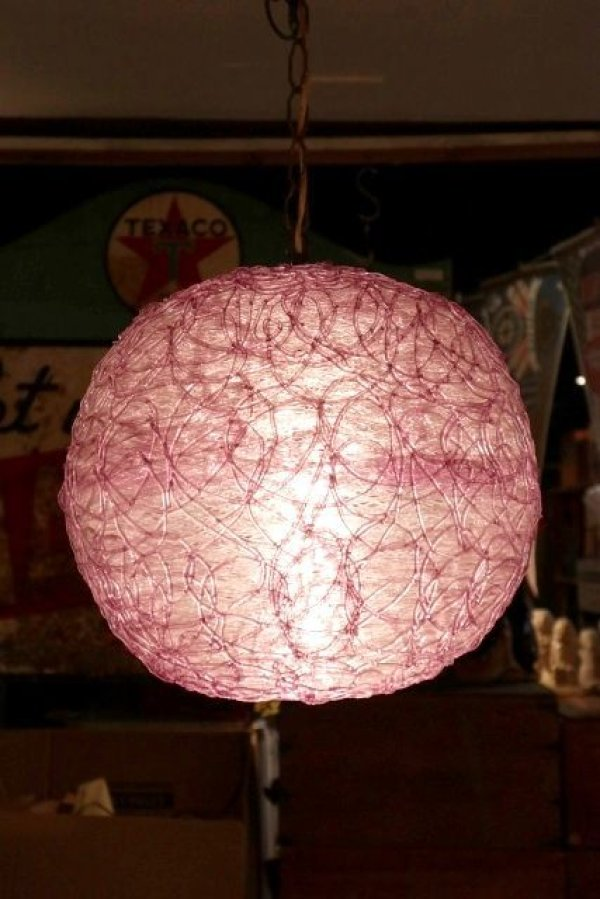 画像1: dp-190801-15 1960's Spaghetti Lamp (Purple)