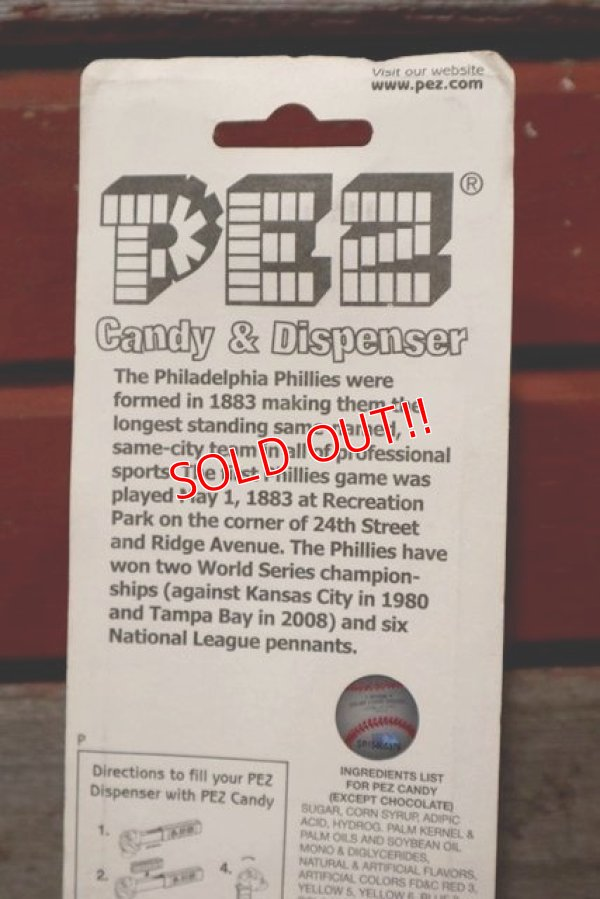 画像3: pz-160901-151 Philadelphia Phillies / PEZ Dispenser