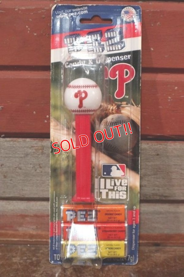 画像1: pz-160901-151 Philadelphia Phillies / PEZ Dispenser