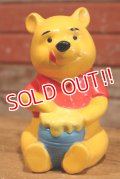 ct-191201-03 Winnie the Pooh / 1970's Paper Mash Coin Bank