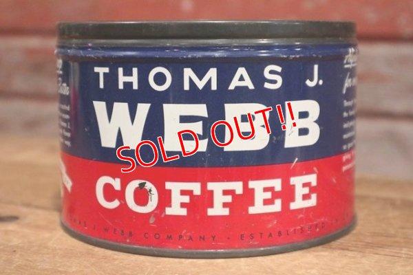 画像1: dp-191201-21 THOMAS J.WEBB COFFEE / Vintage Can