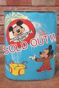 ct-191211-35 Mickey Mouse Club / Cheinco 1970's Trash Box
