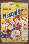 ct-191211-52 Nestlé / Quik Bunny 1990's Nesquik Cereal Box