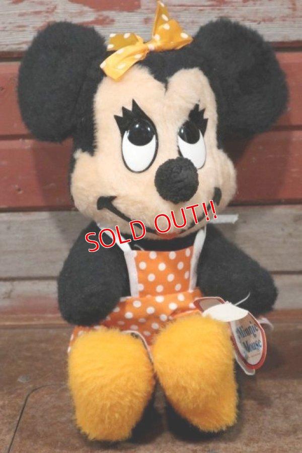 画像1: ct-191211-78 Minnie Mouse / 1970's Plush Doll