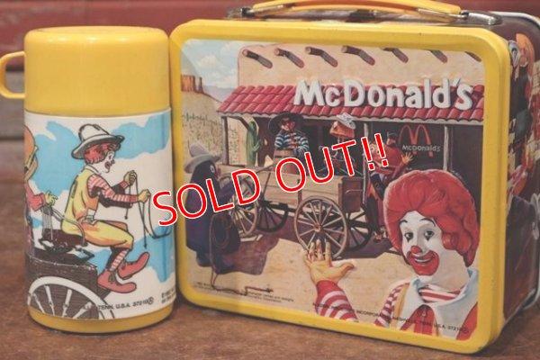 画像1: ct-191211-40 McDonald's / Aladdin 1980's Metal Lunchbox