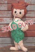 ct-191211-02 Wilma Flintstone / 1960's-1970's Rag Doll