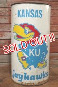 ct-191211-43 KANSAS Jayhawks / 1970's-1980's Trash Box