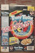 ct-191211-53 Tiny Toon / Qaker Oats 1990 Cereal Box
