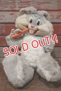 ct-191211-59 Bugs Bunny / MATTEL 1960's Rubber Face Talking Doll
