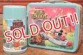 ct-191211-38 Walt Disney World Magic Kingdom / ALADDIN 1970's Metal Lunch Box