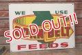 dp-200101-18 CORN BELT FEEDS / Vintage Steel Sign