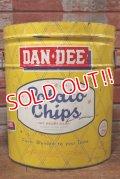 dp-191211-89 DAN・DEE / 1960's Potato Chips Can