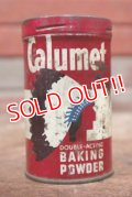 dp-200101-16 Calumet / Vintage Baking Powder Can