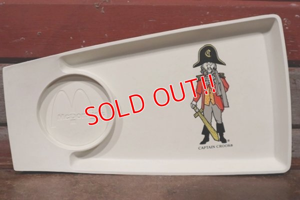 "画像1: ct-200101-33 McDonald's / Plastic Food Tray ""Captain Crook"""