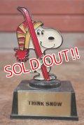 "ct-200201-06 Snoopy / AVIVA 1970's Trophy ""Think Snow"""