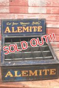 dp-200201-07 ALEMITE / 1940's Store Display Case