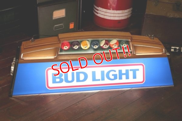 画像1: dp-200101-05 BUD LIGHT / 1980's Pool Light