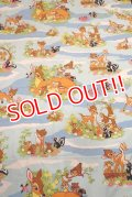ct-200201-74 Bambi / 1970's Flat Sheet (Twin)