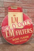 dp-190605-04 L&M Cigarette / 1950's Metal Sign