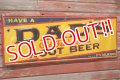 dp-190605-04 DAD'S ROOT BEER / 1950's Metal Sign