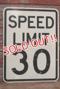 "dp-200201-29 Road Sign ""SPEED LIMIT 30 """