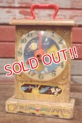 fp-111229-03 Fisher-Price Toys / Musical Box 1964 Tick-Tock Clock