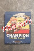 dp-200301-01 CHAMPION / early 1930's Match Book