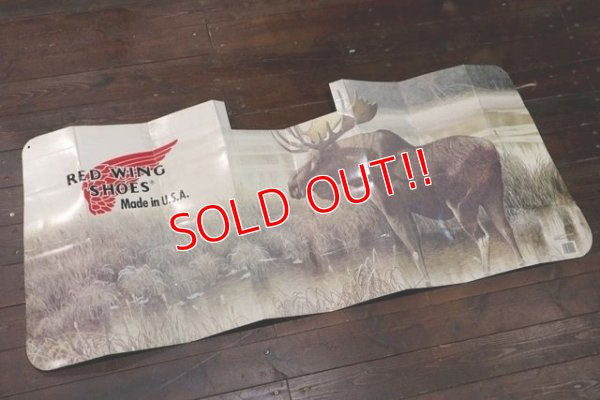 画像1: dp-200301-22 RED WING / 1990's Car Sun Shade