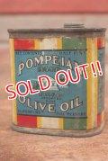 dp-200301-16 POMPEIAN / Vintage OLIVE OIL Can